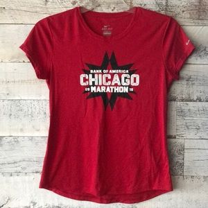 Nike Dri Fit Chicago Marathon Tee 2015